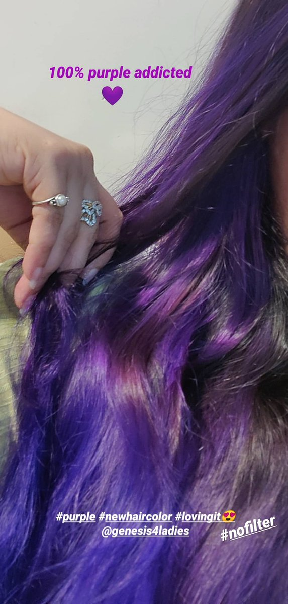 Don't worry BE PURPLE A world without color wud hv no variety Evrything always being a shade of black or white Without d distinction of color in the world Variety wud never b possible Creativity wud b put to a limit   Evrything & every1 wud b d same #Purpleaddicted #haircolor pic.twitter.com/71KCfzu32N