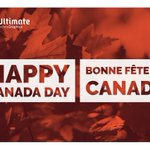Image for the Tweet beginning: Happy Canada Day from your