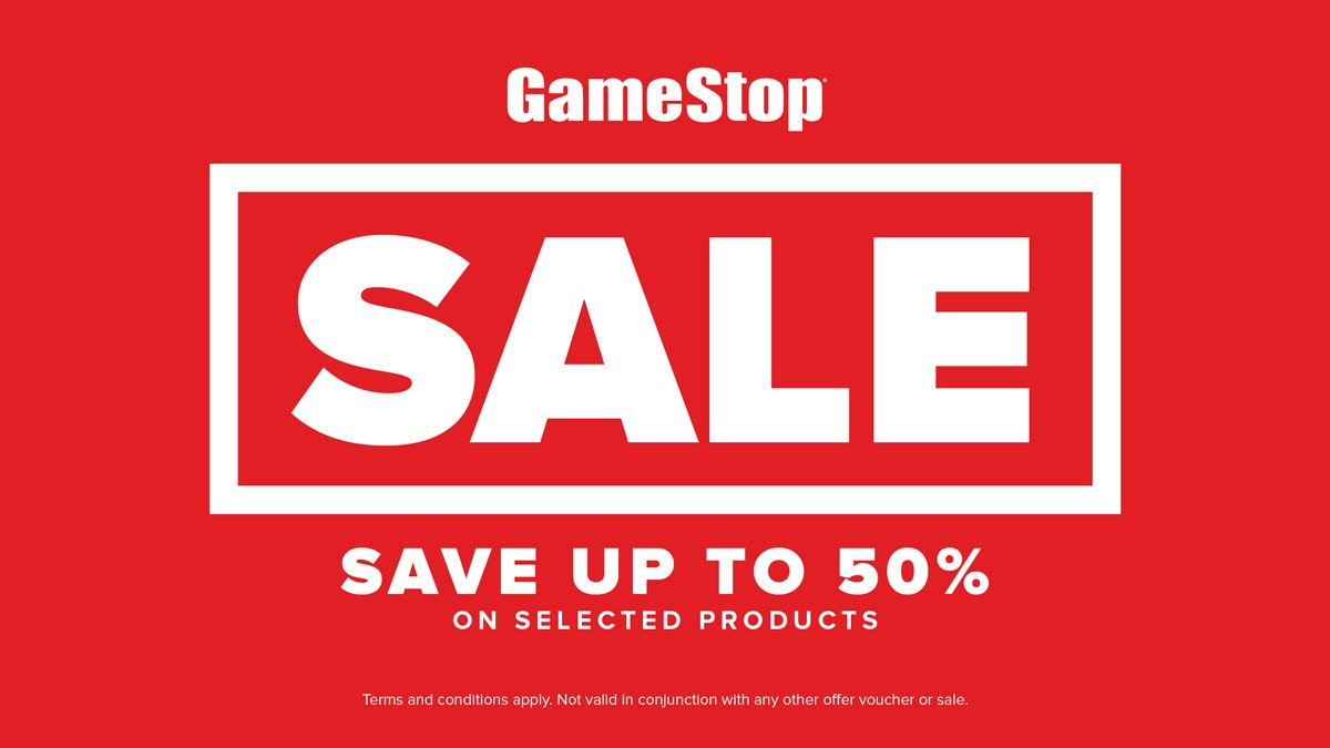 Summer Sale starts today! Save up to 50% on selected Games, Accessories & Loot.  🛒 https://t.co/kjzt60adm0 https://t.co/XBHItyYQwi