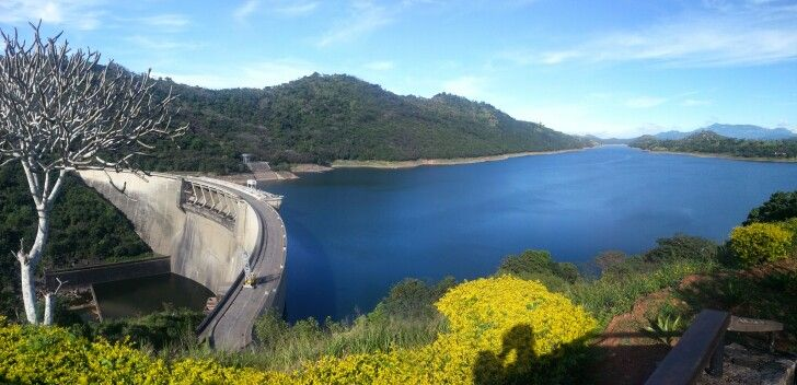 Victoria dam is the tallest dam & the largest hydroelectric power station in Sri Lanka.The dam consists of eight spillways which automatically opens when water levels are high.#lovetravel #travelagent #traveladdict #roamtheplanet #dampic.twitter.com/oBaoeg86n0