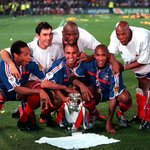 Image for the Tweet beginning: 🇫🇷 France at EURO 2000