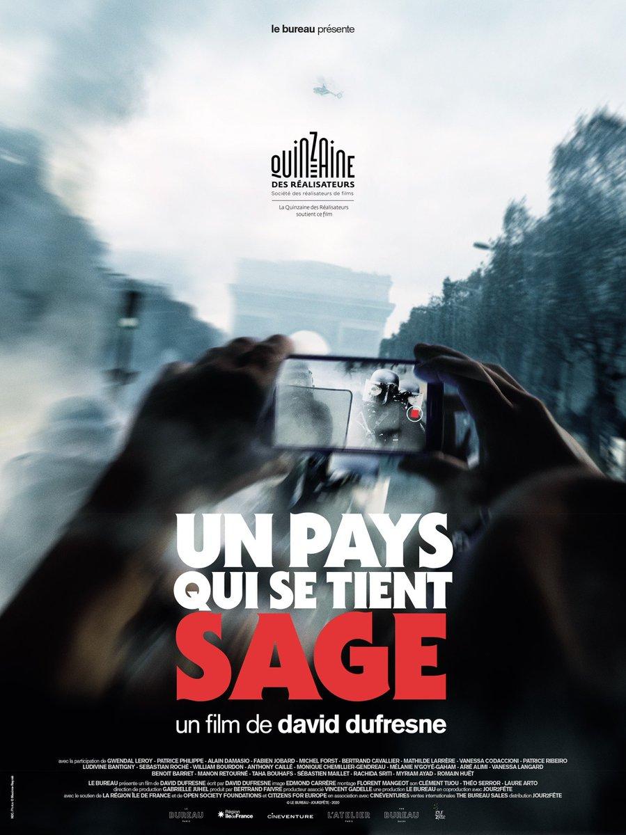 allo @Place_Beauvau - c'est pour un film  Sortie nationale: 30 sept. 2020 #UnPaysQuiSeTientSage https://t.co/vIFCIFUa9T