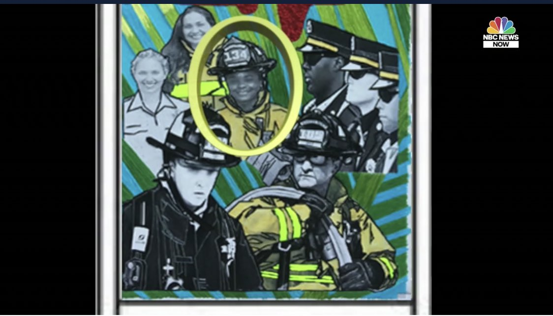 """JUST IN: Two Florida officials fired for erasing faces of Black firefighters from city mural. """"It's a huge racial insult. For them to unilaterally take this and decide to not only remove her face but to whitewash the face, it is beyond offensive.""""@NBCNews   https://www. nbcnews.com/news/nbcblk/tw o-florida-officials-fired-erasing-faces-black-firefighters-city-mural-n1232387  … <br>http://pic.twitter.com/VWiK3A6isd"""