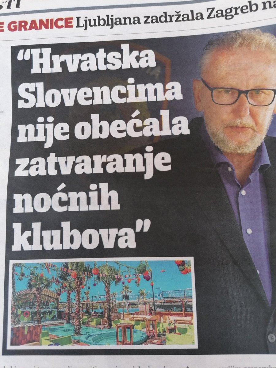 Osvežitev: Letošnje poletje arbitraža ni na meniju bilateralnih odnosov Ljubljana-- Zagreb. Ampak nočni klubi v Zrćah. No, hrvaški modus operandi je v vsakem primeri isti kot pri arbitraži pic.twitter.com/ehej6Qd85e