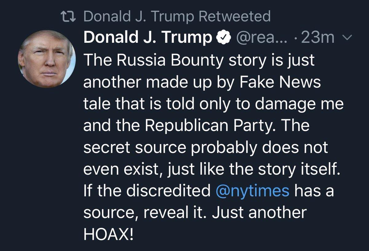 Donald J. Trump retweets Donald J. Trump