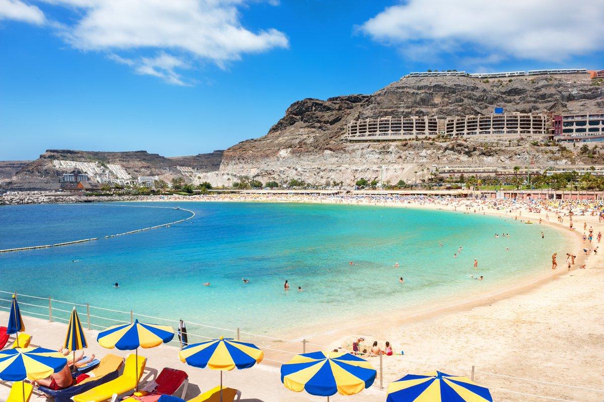 Vor unseren Bürofenstern ist es heute grau. Doch nach und nach füllt sich der Flugplan wieder mit sonnigen Urlaubszielen! Heute ist erstmals wieder eine Maschine von @Corendon_Air nach Gran Canaria gestartet. 2x wöchentlich hat die Airline die Kanaren-Insel ab heute im Programm. https://t.co/4Tm9M92MwJ