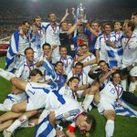 Image for the Tweet beginning: 🇬🇷 #OTD at EURO 2004