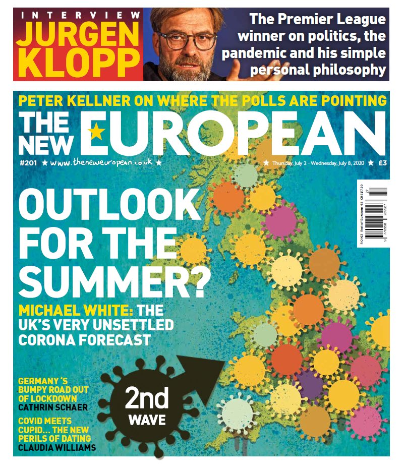 THE NEW EUROPEAN: Outlook For The Summer? #TomorrowsPapersToday