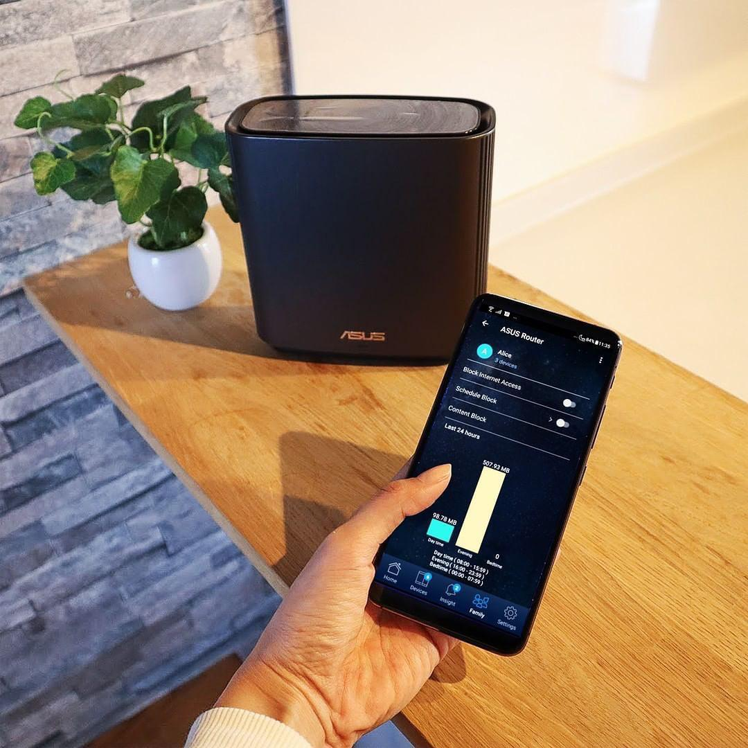 With a secure network, your household will feel more ~zen~ ...so the ZenWifi's AiProtection Pro comes with Advanced Parental Controls — that allow you to view, block & filter content 🔒  More info: https://t.co/Hh8n2duC9B 🛒 https://t.co/tP8xkx282e https://t.co/0q8GvxVptL