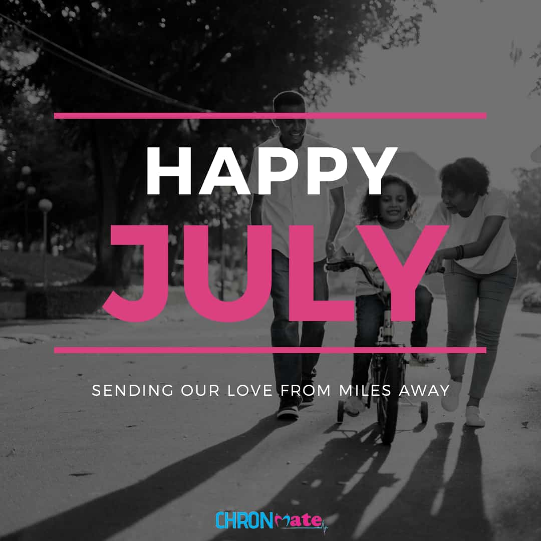 Welcome to July... Happy new month!!!         #healthylifestyle  #HealthForAll #CHRONmatepic.twitter.com/vXRfCoP7DH