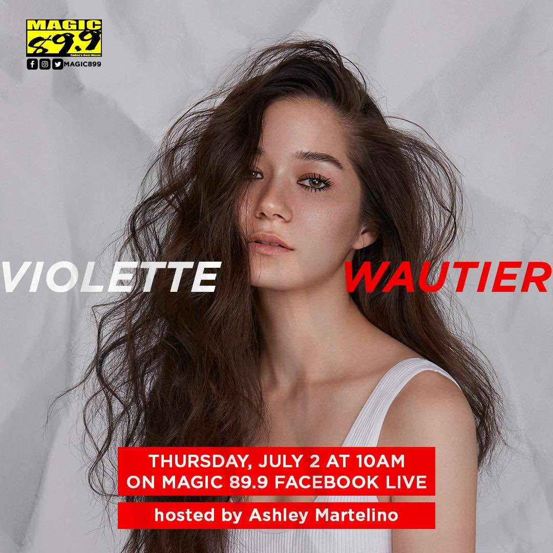 Sorry for the delay folks, but our interview with @violettewautier will be moved to tomorrow! Catch another special one on one with this rising star and our very own @ashleymartelino. Same time, same place, so set your alarms for 10am tomorrow, July 2 on Magic 89.9 🌟