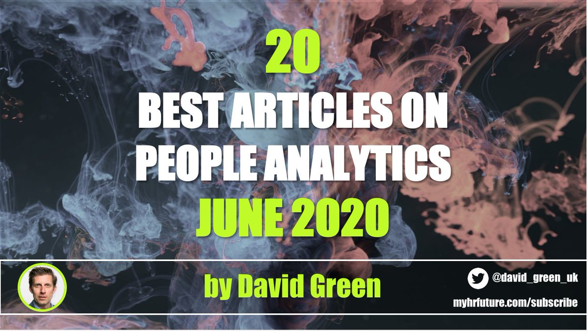 RT @david_green_uk The 20 best #HR & #PeopleAnalytics articles of June 2020 https://t.co/xG2y3uEfGh… Feat: @AdamMGrant @AndrewMarritt @kathi_enderes @StaciaGarr @torinellis @JohnSumser @dave_ulrich #Diversity #HRTech #FutureofWork #ONA #EmployeeExperience https://t.co/KObwxLbV9g