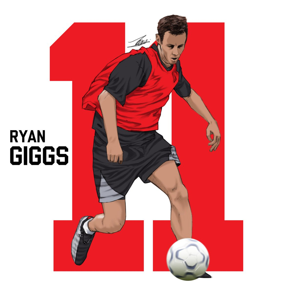 ✍️ #MCO Drawing Session: Ryan Giggs ---------- 🔴 The 🏴󠁧󠁢󠁷󠁬󠁳󠁿 Welsh Wizard of Manchester United 🔴 ---------- #classof92 #football #ryangiggs #giggsy #manchesterunited #manutd #mufc #ggmu #wales #cymru #瑞恩吉格斯 #吉格斯 #傑斯 #足球 #sketch #drawing #pencilsketch #quicksketch https://t.co/uE42B57Kuz