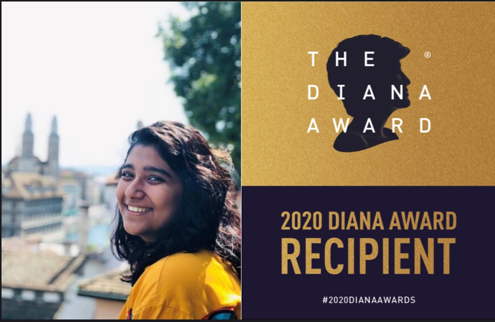 #Honoured to have been recognised with The @DianaAward !  Thank you @Ashoka for nominating me.   This is truly a recognition of the efforts of everyone who I have shared this journey with. Grateful 🙏🏻  @yashveer887 @WhyWasteOrg @WeAreGCM  #2020DianaAwards  https://t.co/5QqYDcBfXo https://t.co/jo7Azxp6Sp
