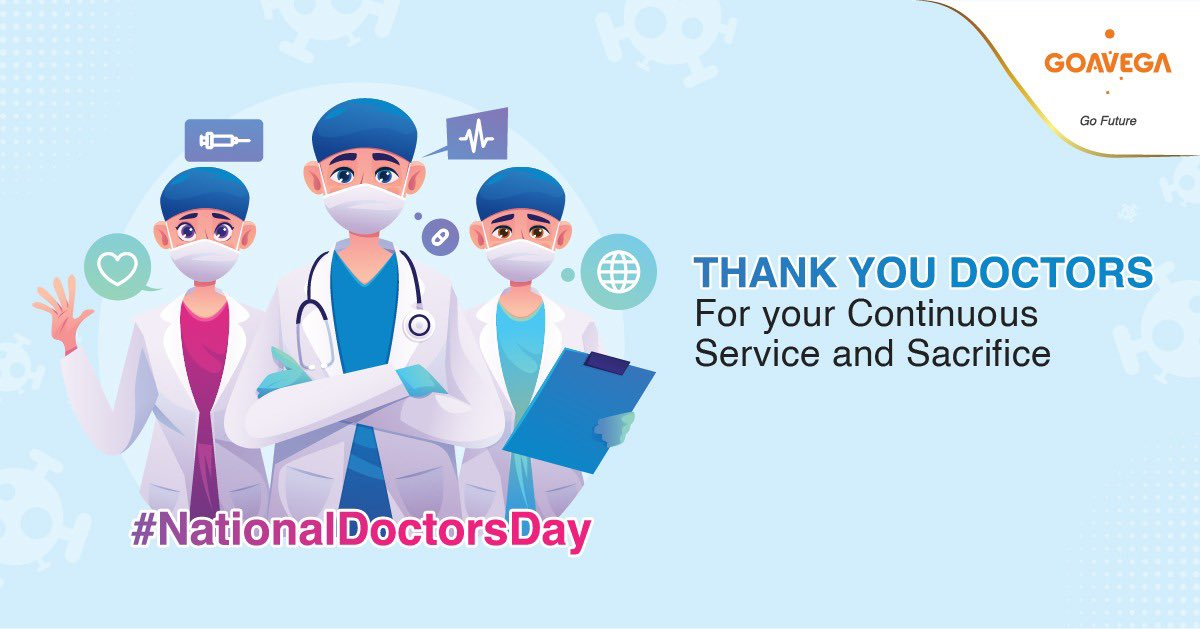 To All Our Life Saving Hero's  #HappyDoctorsDay #doctorday #Goavega <br>http://pic.twitter.com/BPuwYCenEw