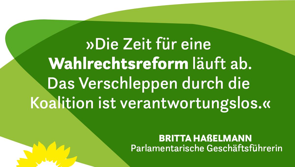#Wahlrechtsreform
