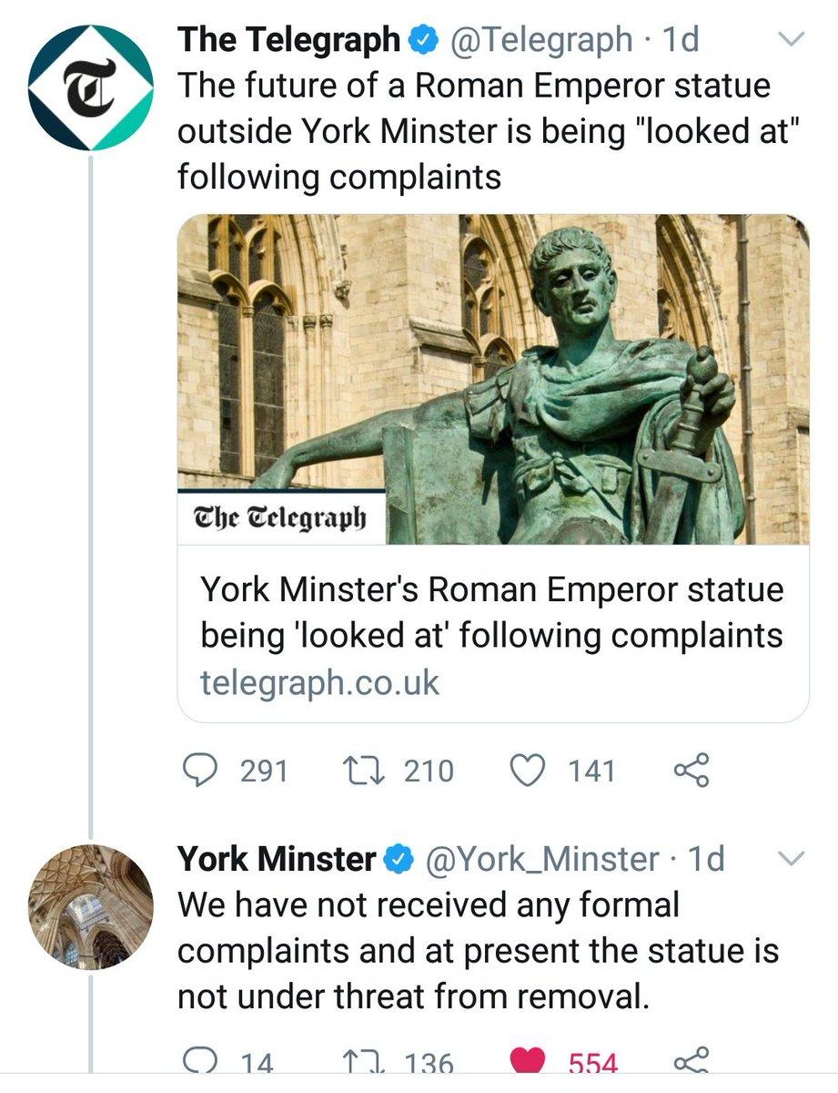 Telegraph v. York Minster.