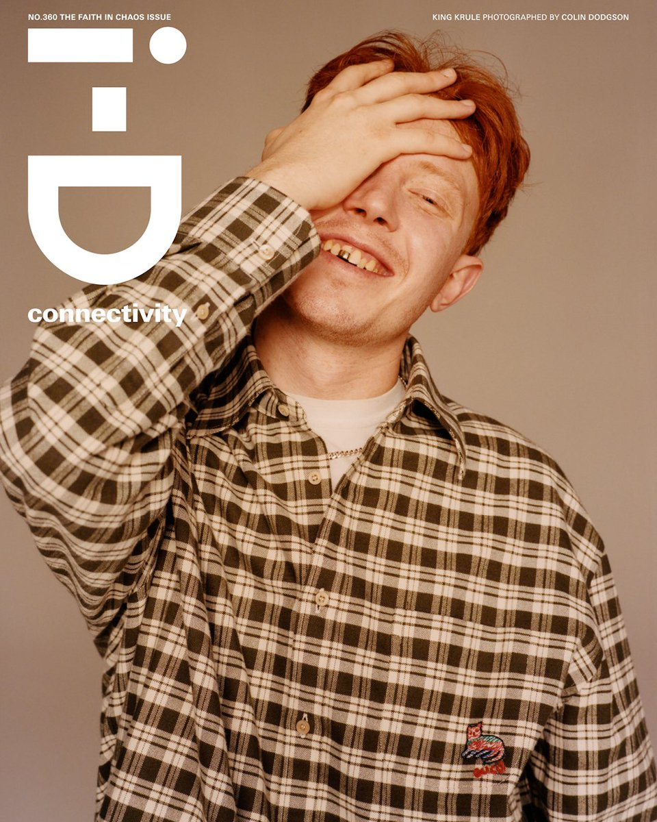 King Krule for @i_d, The Faith In Chaos Issue.  Read now: https://t.co/40xkbVckDB https://t.co/1ylOxGyqlD