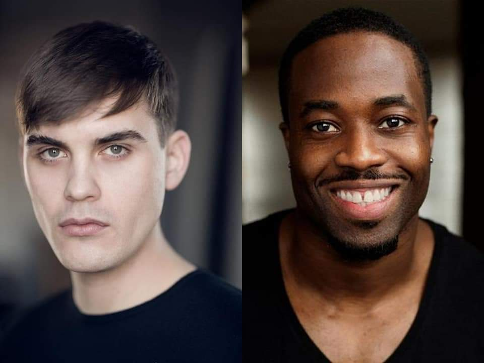 we have our gay angels  Oliver Monaghan and I-Kay Agu will be Baruch and Bathalamos in the second season of #HisDarkMaterials  <br>http://pic.twitter.com/w1PdBUG8Tq