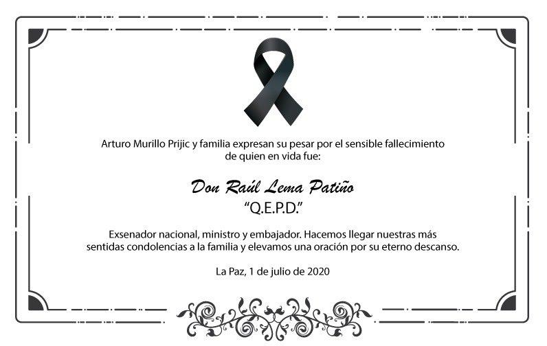 Condolencias. https://t.co/mTrXXhy7PB