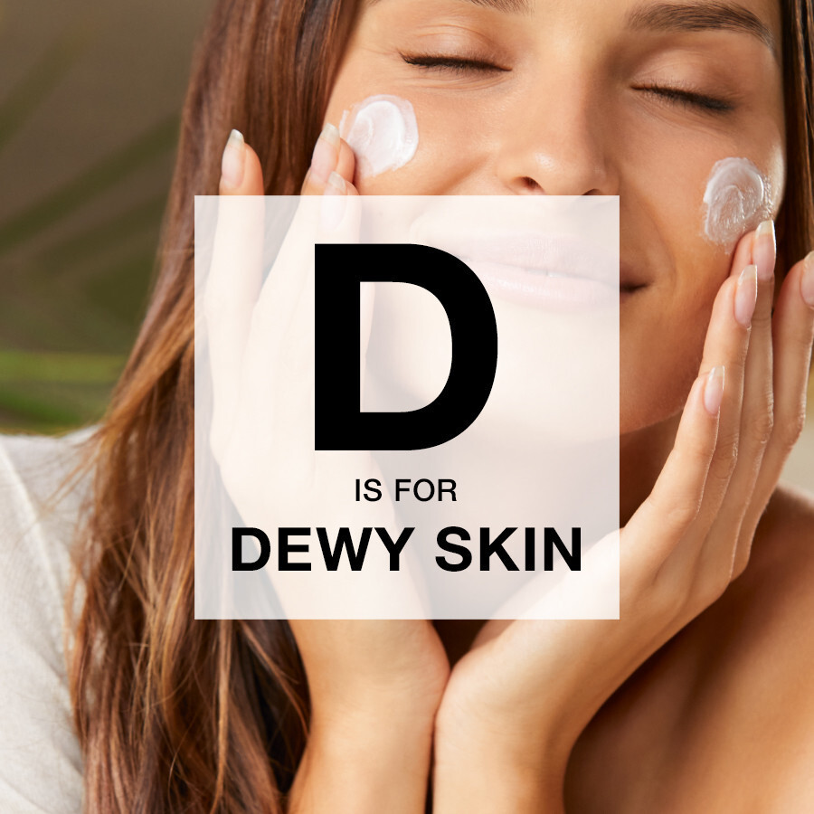 D is for… Dewy Skin!  Adore that 'dewy' look?  Add a small amount of liquid highlight under your foundation for that beaming, glowing look!    I've got just the thing to help  http://wu.to/c7xRY9  #glammakeup #glowymakeuppic.twitter.com/sWXAJzNKIv