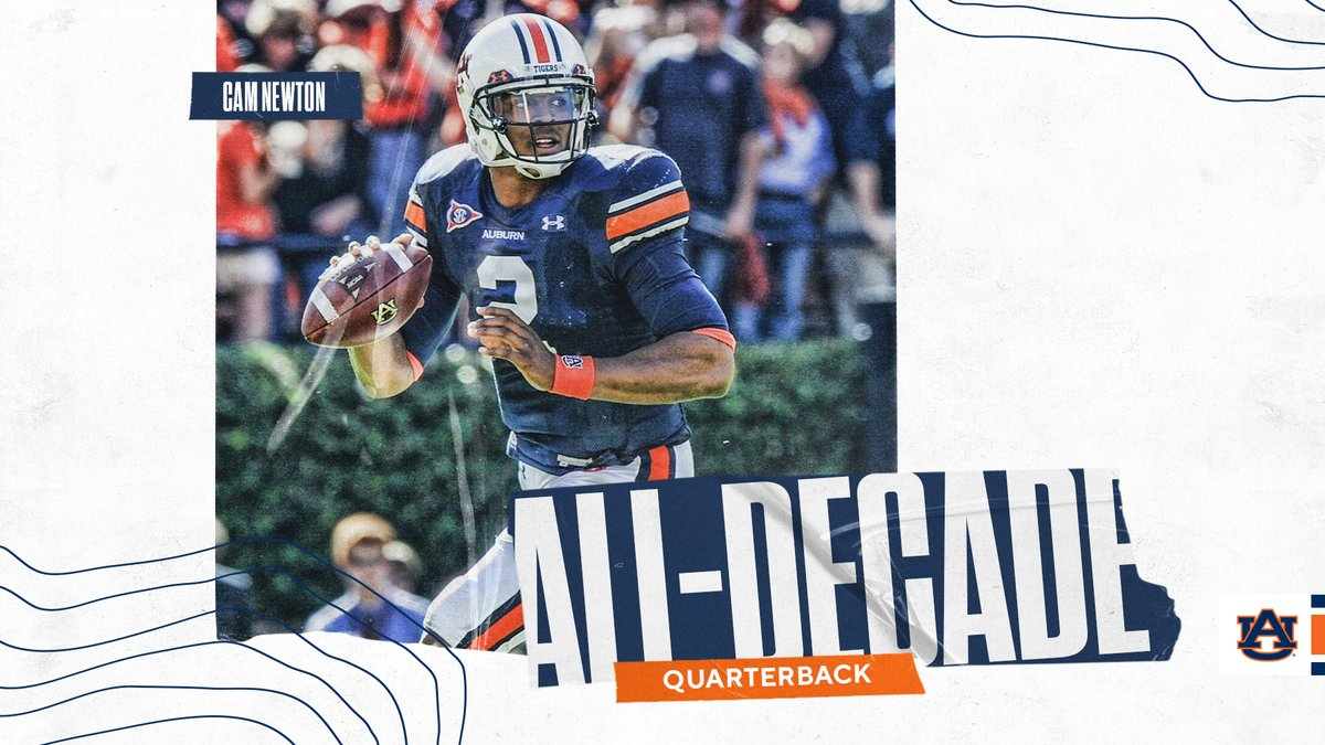 Introducing our 2010s All-Decade Offense! #WarEagle