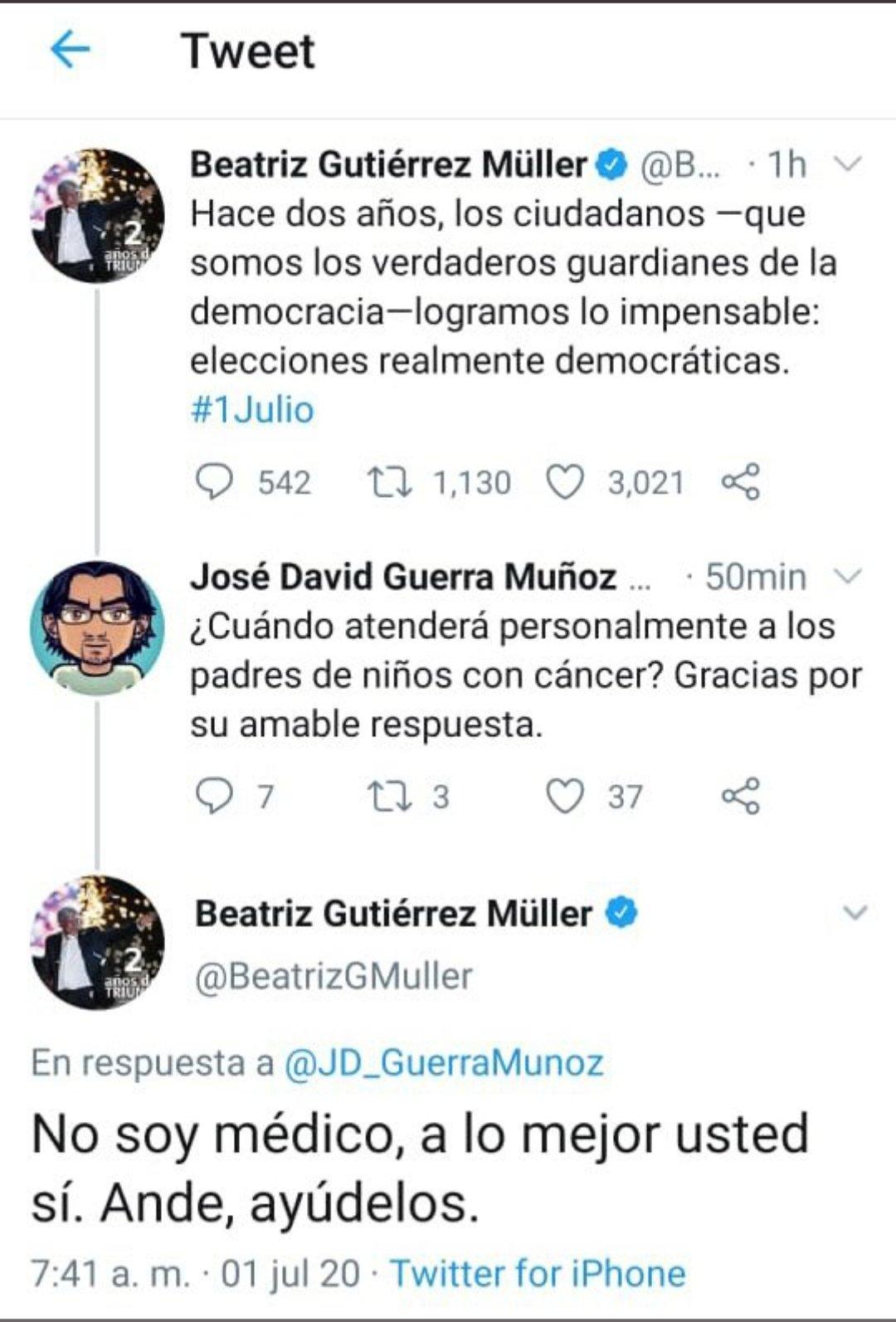 "Sergio Sarmiento on Twitter: ""Borra Beatriz Gutiérrez Müller su ..."