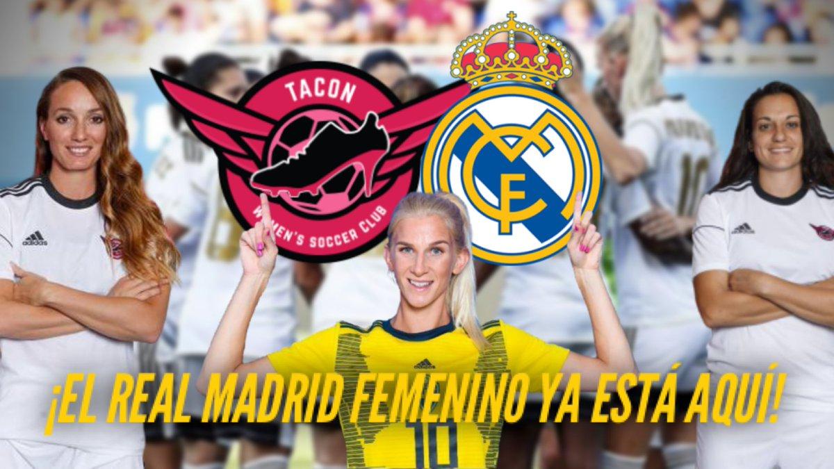🔥 ¡NUEVO VÍDEO EN YOUTUBE! 🔥  El Real Madrid Femenino ya es una REALIDAD.   Origen, estrellas, posibles fichajes... ¿Quieres saber más sobre la llegada del equipo blanco a la #PrimeraIberdrola?   Pincha aquí: https://t.co/YMcKyqiFnf https://t.co/jEN1M4oSs3