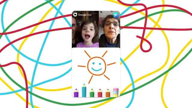A few new ways to make memories together:  ✏️ Doodle together on video calls 📹 Send personalized video messages 👨🚀 Wear animated masks and add filters 🤳Save special moments from your calls Google Duo is reimagining how we virtually hang out → https://t.co/kHEWcCaibV https://t.co/UJYsevnFcn