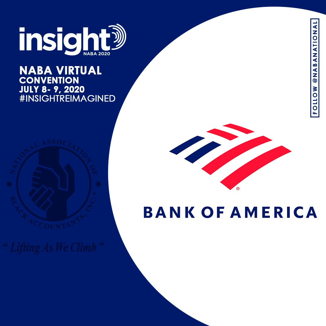 @BankofAmerica is a proud sponsor of the virtual #NABA conference July 8-9. Learn more here: https://t.co/KZojWZBRLC https://t.co/1WpcZyZqwE