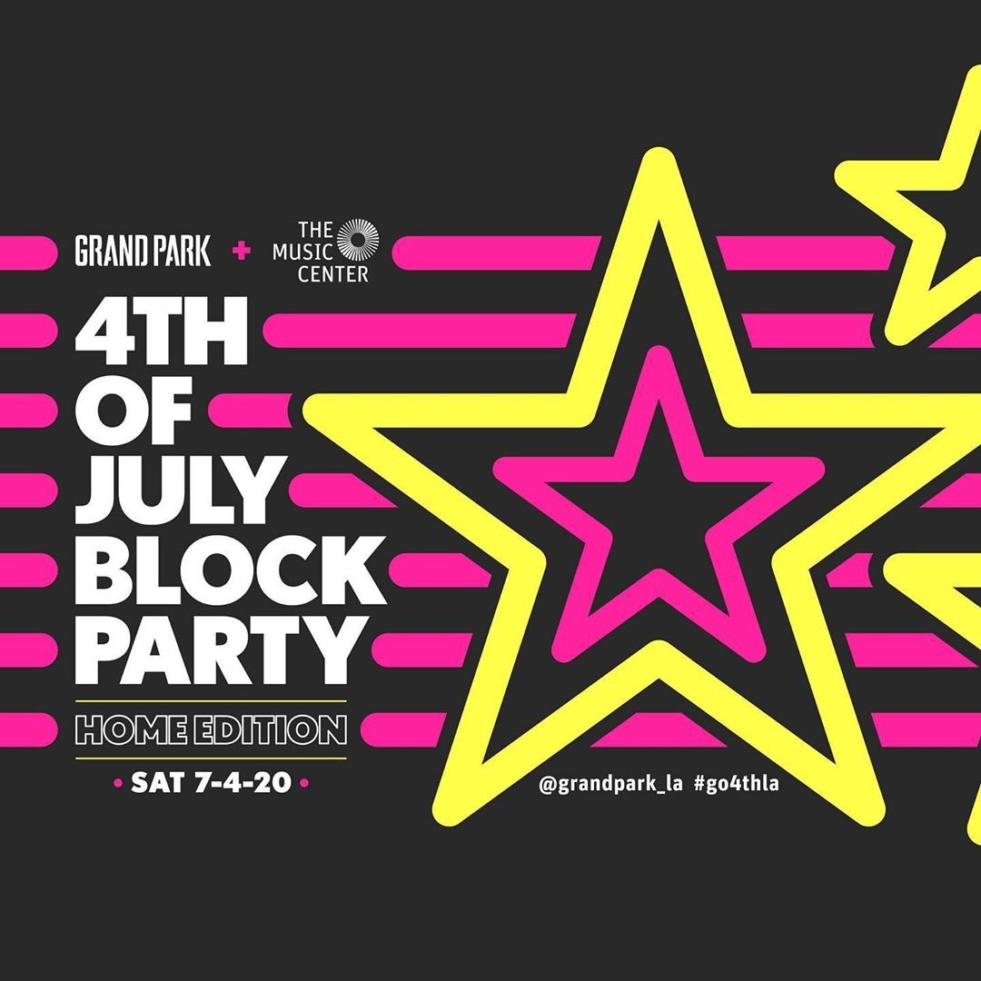 Celebrate the 4th with me this year at the @GrandPark_LA + @MusicCenterLA 4th of July Block Party. The first hour of the show will air on @ABC7 and https://t.co/cy2GoOylqA at 7pm PT. The party will continue at 8pm PT on Live Stream here: https://t.co/5Zjjbilv1t https://t.co/tlOUgtyyy2