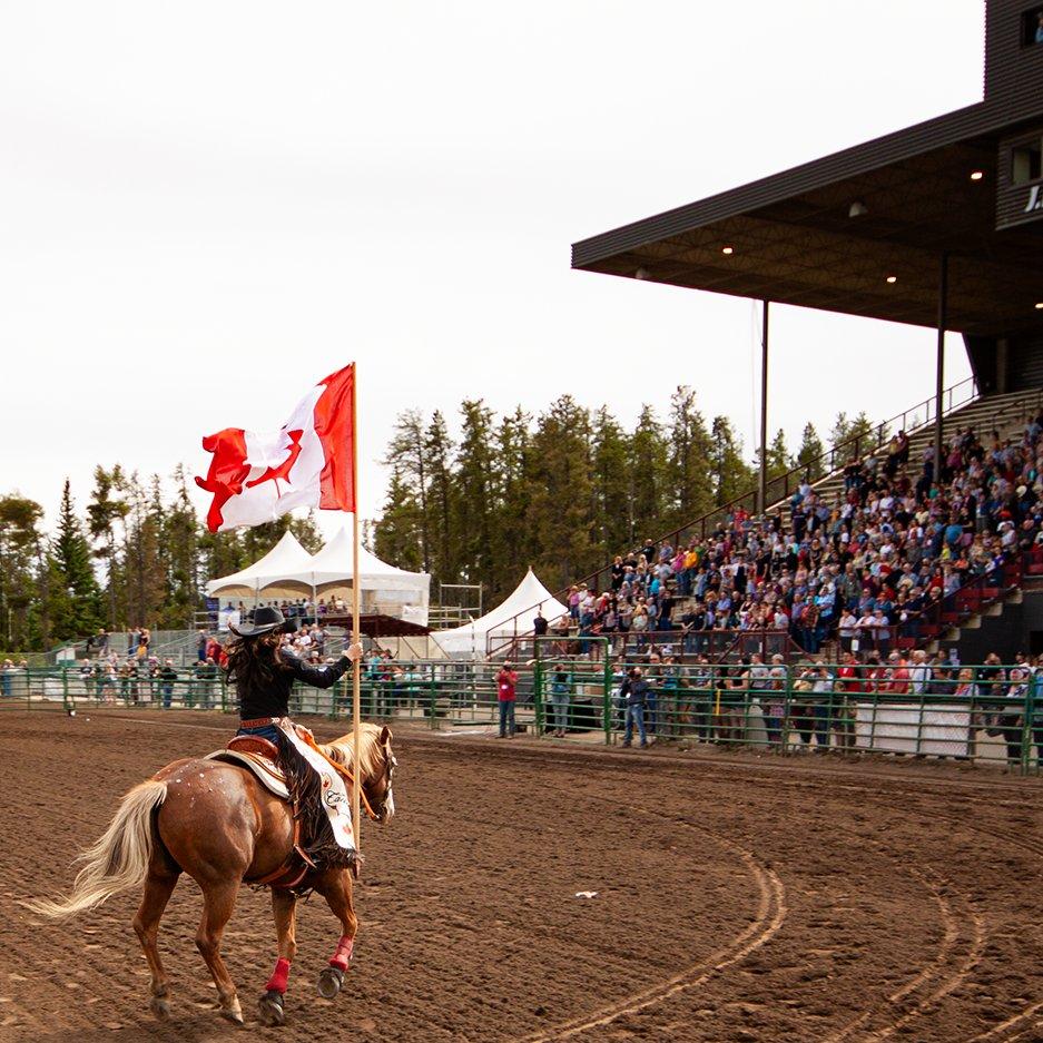 Happy Canada Day everybody! #GPStompede #HappyCanadaDay #CanadaDay #YQU GrandePrairie #PeaceRegion #PeaceCountry #RodeoQueen #CanadianFlagpic.twitter.com/QuR7E4pgF1