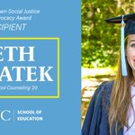 Image for the Tweet beginning: Congratulations to Beth Swiatek for