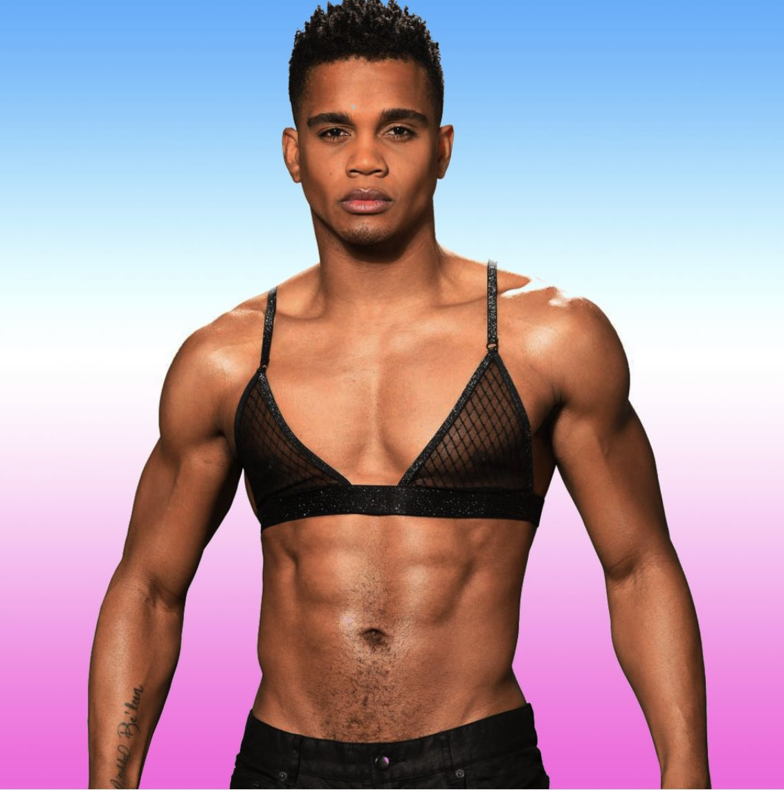 Men in bras! We think it's kinda hot....but what do you think?