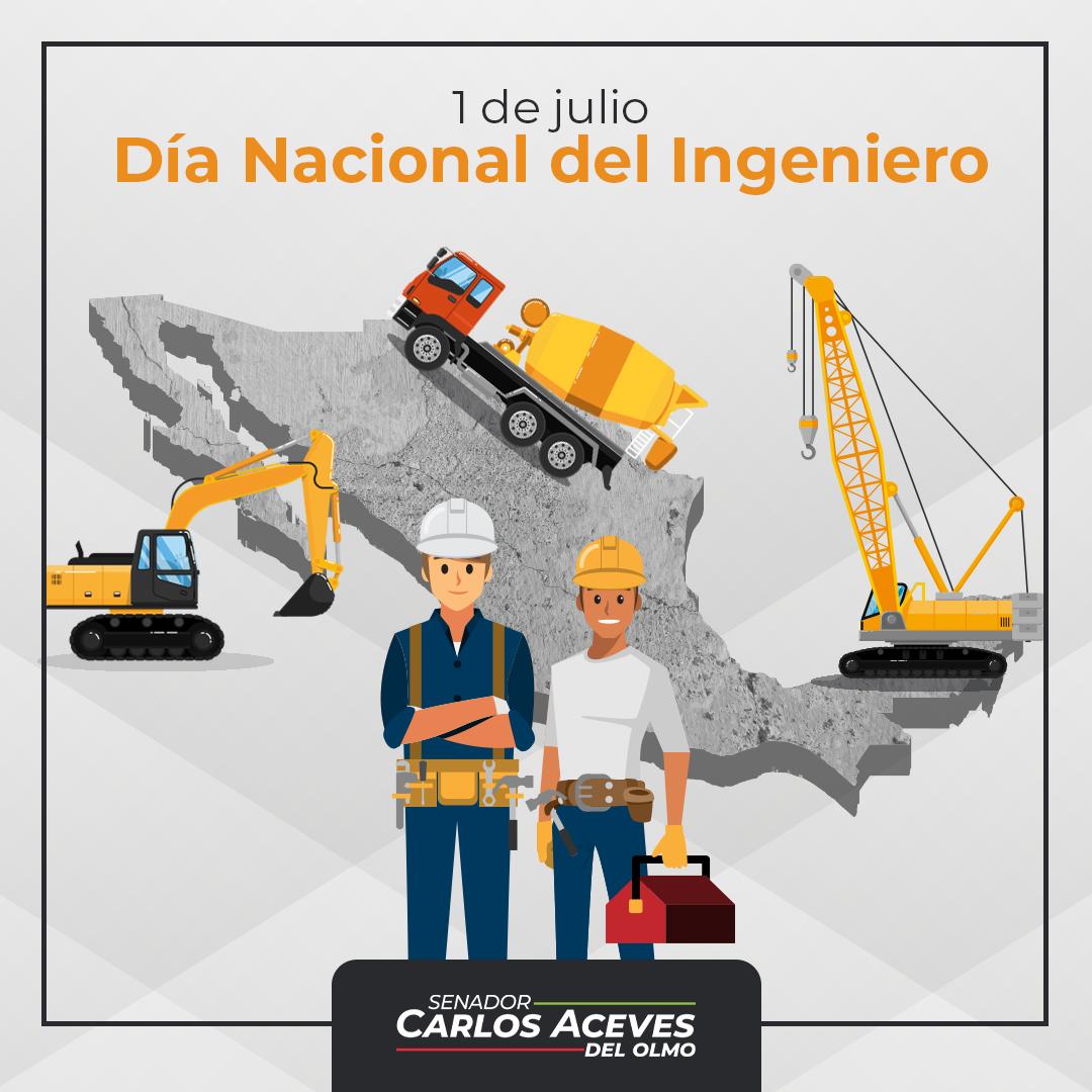Contribuidores de creatividad, innovación, compromiso y desarrollo para nuestro México🇲🇽, hoy celebramos a las y los ingenieros.  ¡Muchas felicidades!  #DíaDelIngeniero https://t.co/ECdsxkECEb