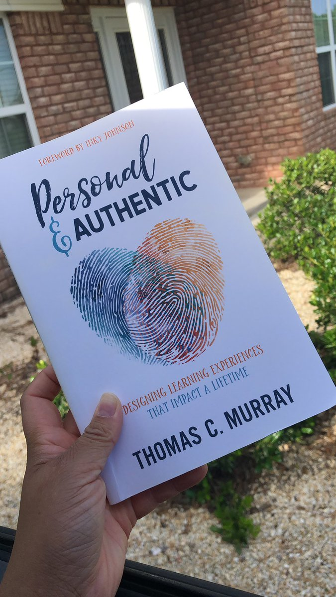 I have some awesome summer reading this year! #AuthenticEDU