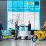 Image for the Tweet beginning: DHL Express is our new