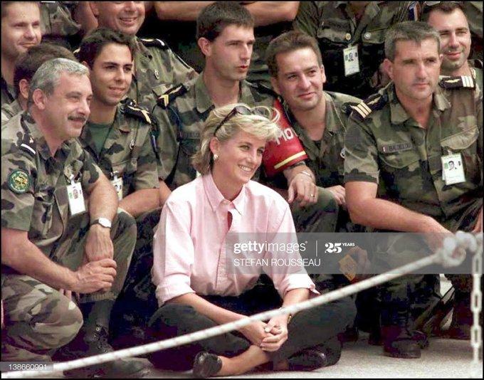 Happy birthday to Princess Diana. We still miss you!