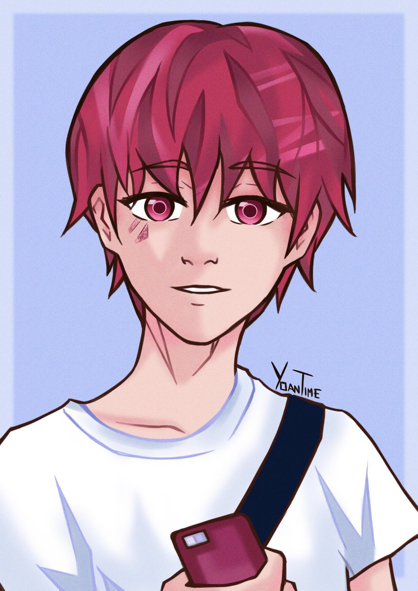 Nyx's drawing to practice technique in digital again! He's around 16/17 years old here #originalcharacter #illustration pic.twitter.com/IuXojxCQvf