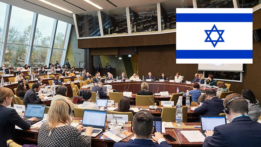 Welcome to #Israel🇮🇱 as a new observer state to the Ad hoc Committee on #ArtificialIntelligence (#CAHAI) of the Council of Europe! Status obtained today by decision of the Committee of Ministers #CoE4AI @coe @israelinCoE  ℹ️ https://t.co/lsr0EFfuPK https://t.co/huzFsUNou6