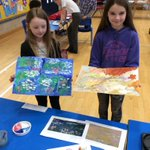 Image for the Tweet beginning: Rufforth Rainbows paint Monet's 'Waterlillies'