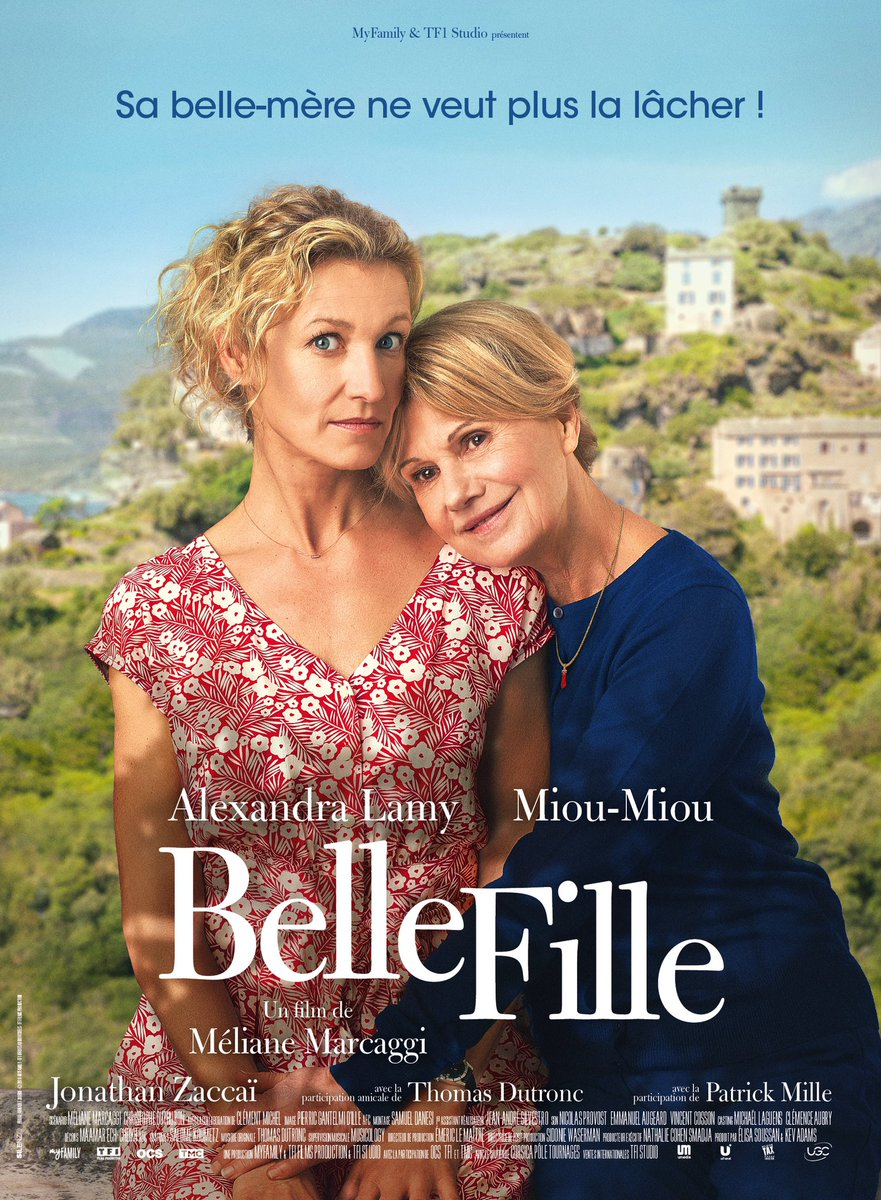 .@Alexandra_Lamy est la #BelleFille de #MiouMiou malgré elle, dans une comédie de #MélianeMarcaggi, le 19 Août au cinéma ! https://t.co/wqhzi68onh
