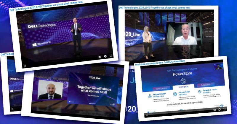 It's not too late to get the inside scoop on your digital future at #DellTech2020_Live. The immersive event, sessions and 3D experience is now available on demand here: https://t.co/0MqAl9D5FW https://t.co/ZC9MMxFYoV