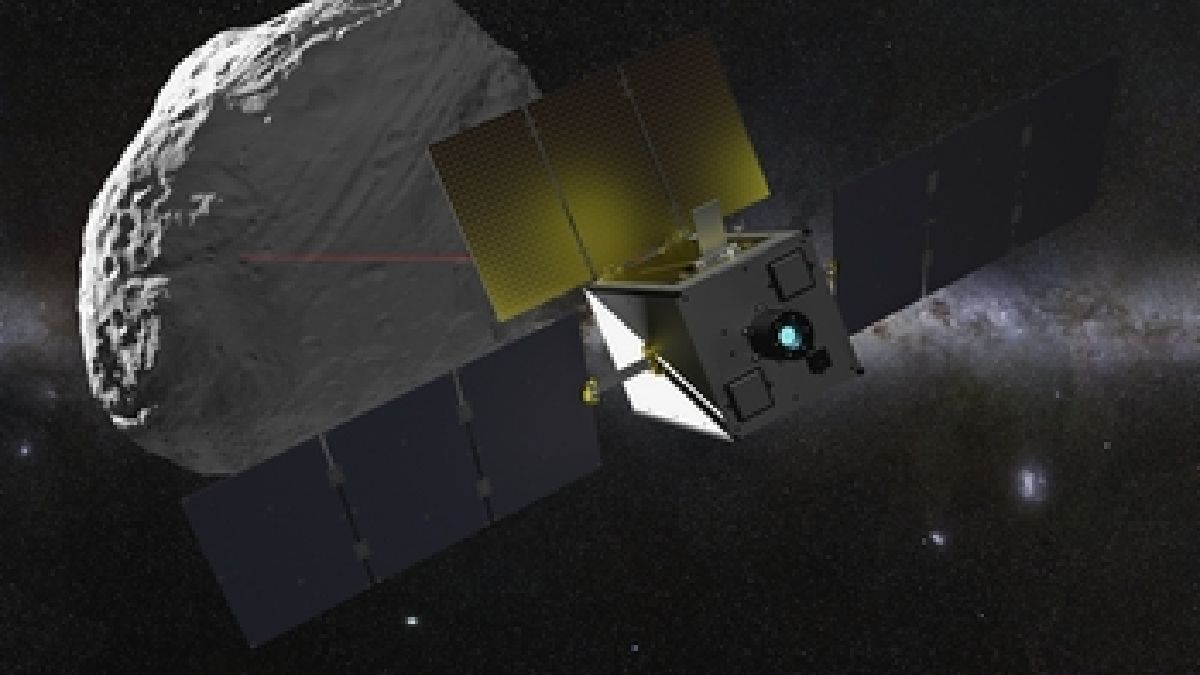 ESA's smallest future #asteroid mission , this is the suitcase-sized 'Miniaturised Asteroid Remote Geophysical Observer', or M-Argo. Planned for launch around 2023-25, it will survey asteroids for resources that could be extracted in future 👉