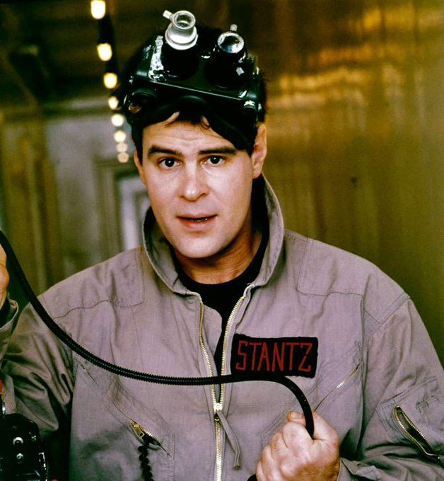 Happy birthday to Dan Aykroyd!  The heart of the Ghostbusters!