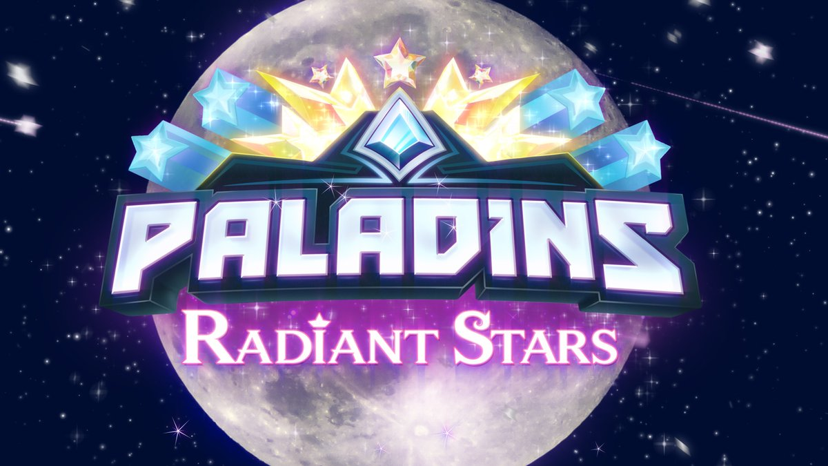 Star Sisters Io, Inara, Seris, and Imani are here to protect the Galaxy...and Realm! Join Evil Mojo at 12PM ET to see the next update coming to Paladins, Radiant Stars.