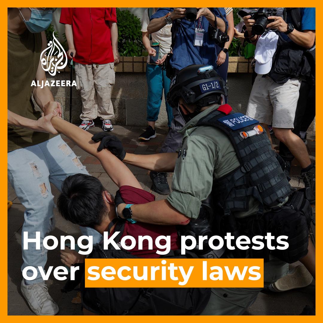 Was für ein frustrierender und bitterer Tag für #HongKong. #China greift mit dem neuen Sicherheitsgesetz dem Ende der Autonomie 2047 vor. Wer in Hongkongs Zukunft sehen möchte, sollte die Gegenwart der #Uiguren ansehen. Respekt den sehr sehr mutigen #HongKongProtests.