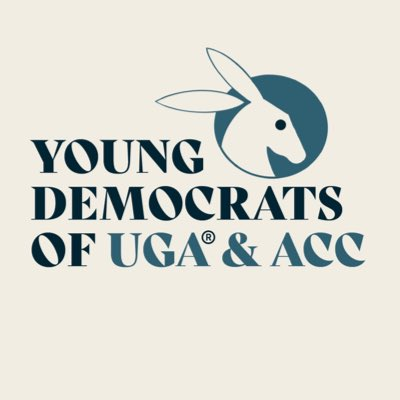 Our new logo, designed by the talented @c_xavierepic.twitter.com/CvM4doC6J1  by Young Democrats of UGA