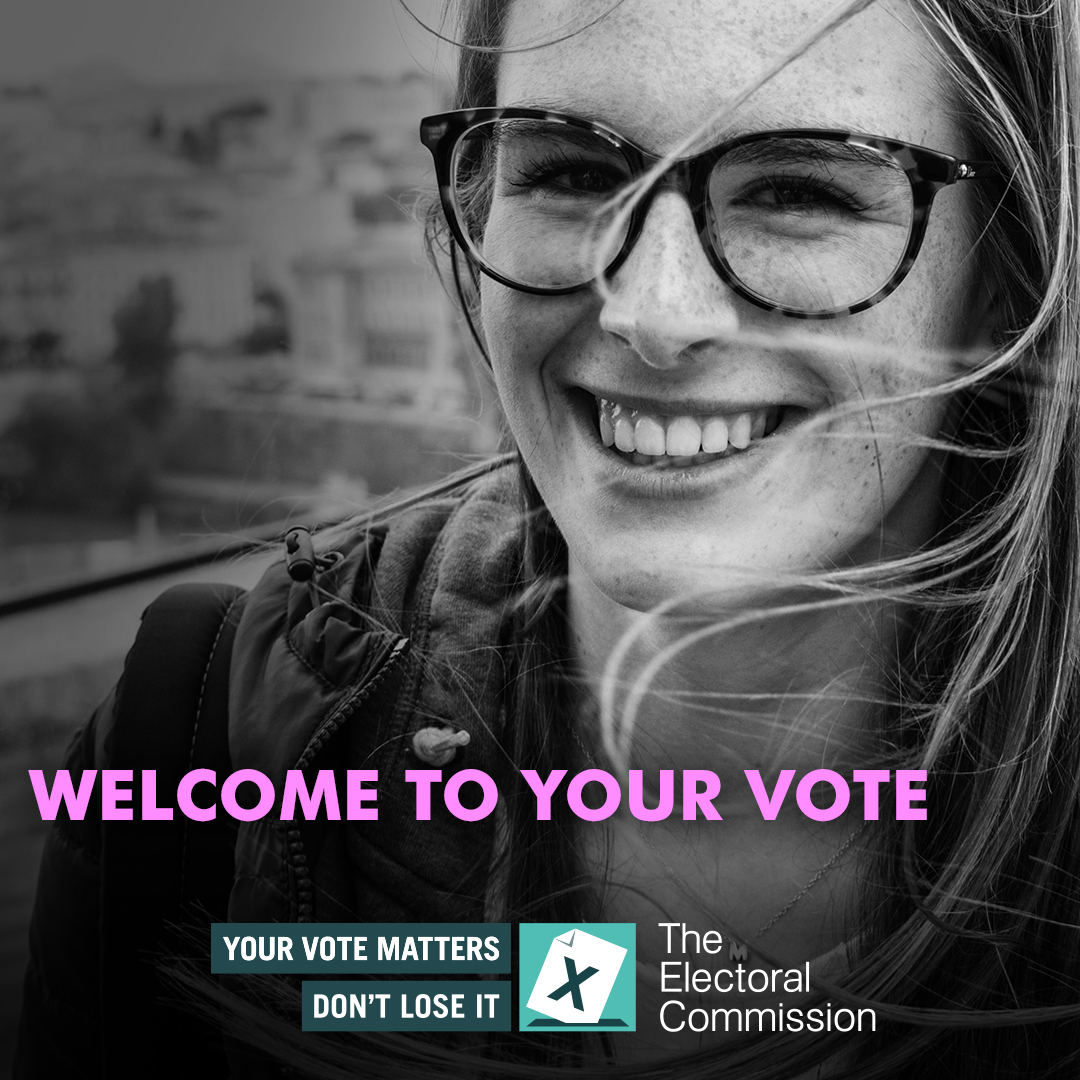 Croeso! Welcome! Wales is welcoming new voters 🗳️ 16 and 17 year olds and foreign citizens can now vote in Senedd elections. ➡️ If you know any new voters, let them know they can register to vote now at gov.uk/registertovote