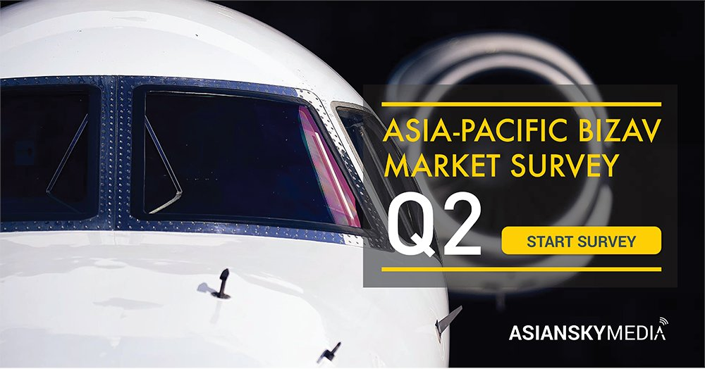 How did the #businessaviation in #APAC perform during Q2? Tell ASG in our quarterly Market Survey and find out the results in the upcoming Asian Sky Quarterly: https://t.co/yzPlHp69Jo  #avgeek #bizav #aviationnews https://t.co/gNZ38S932z